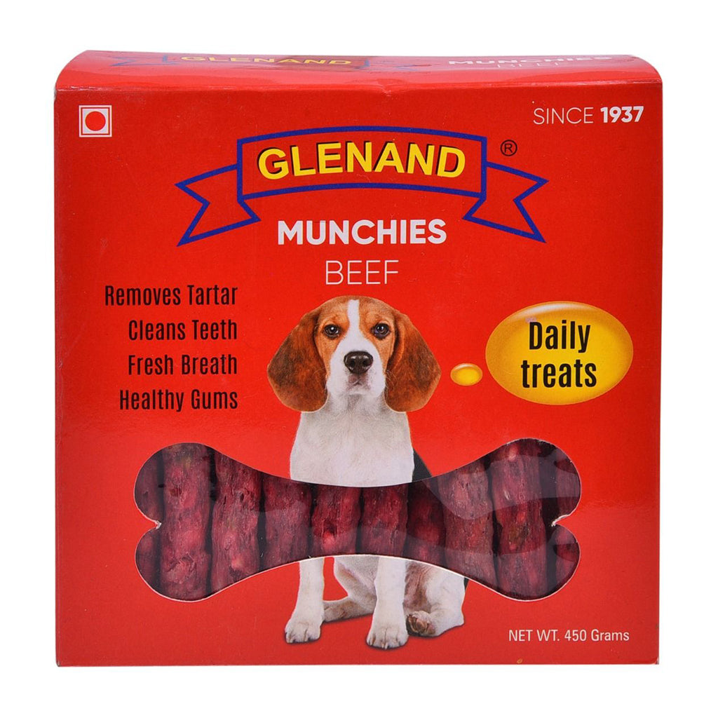 Glenand Dog Munchies Beef 450g