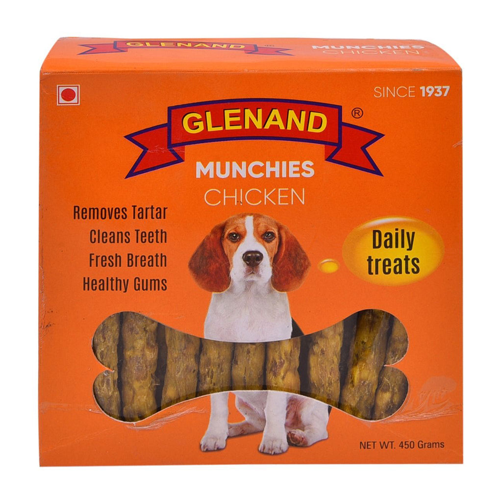 Glenand Dog Munchies Chicken 450g