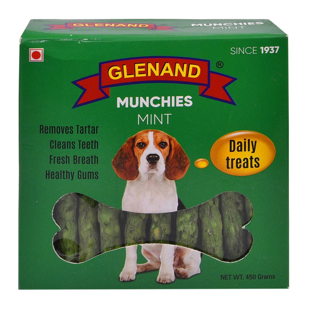 Glenand Dog Munchies Mint 450g