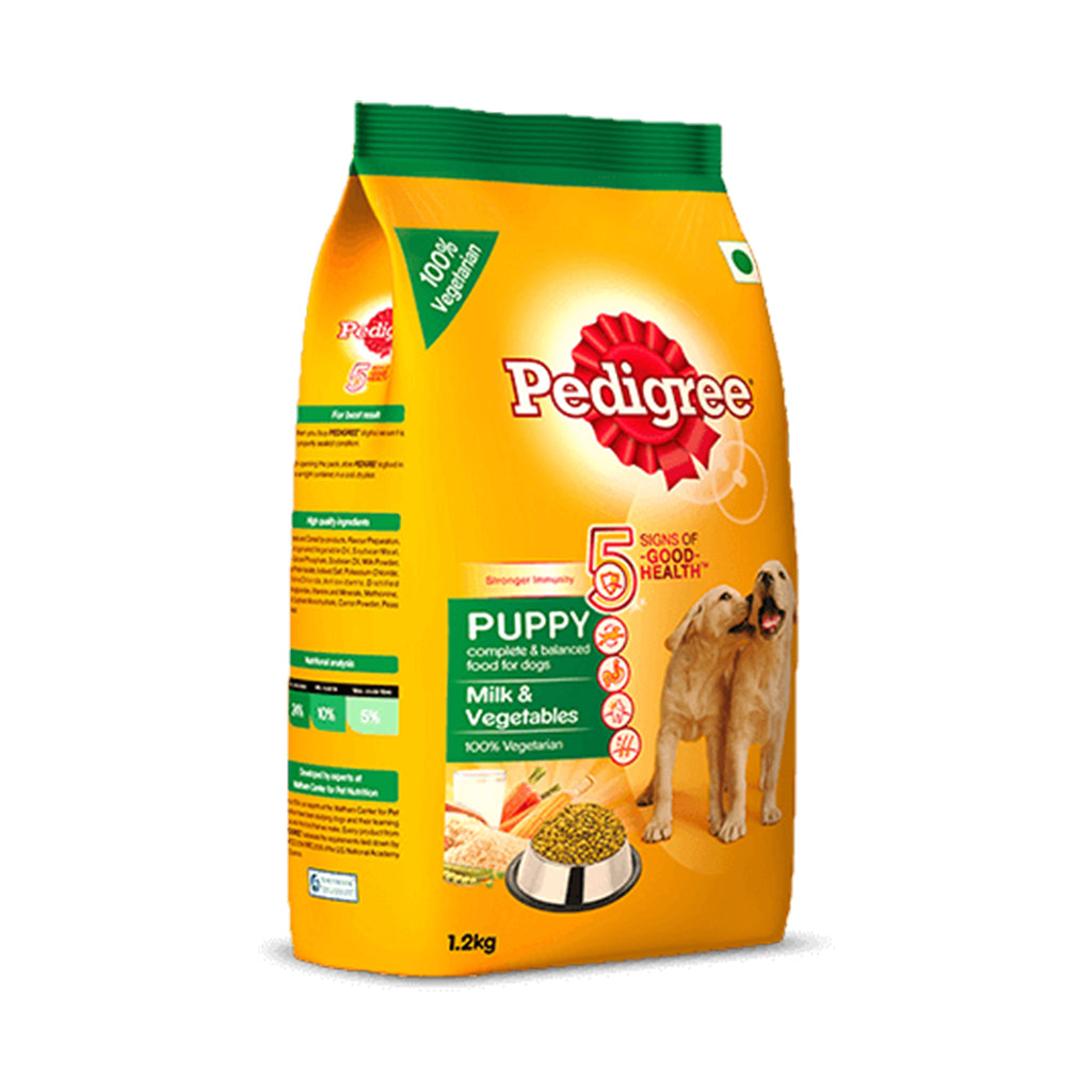 Pedigree Puppy Milk And Veg 1.2KG