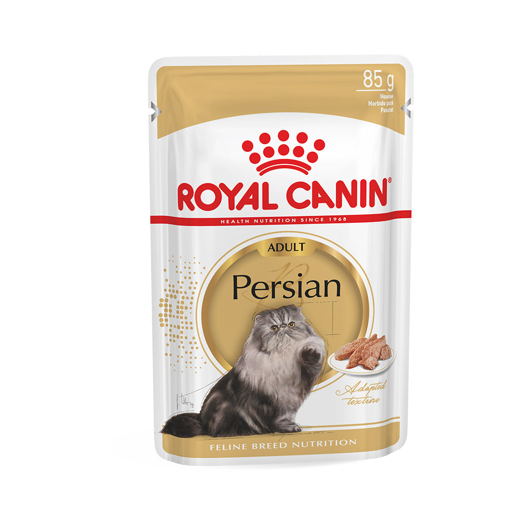 Royal Canin Persian Adult Gravy Wet Cat Food 85g (Pack of 12)