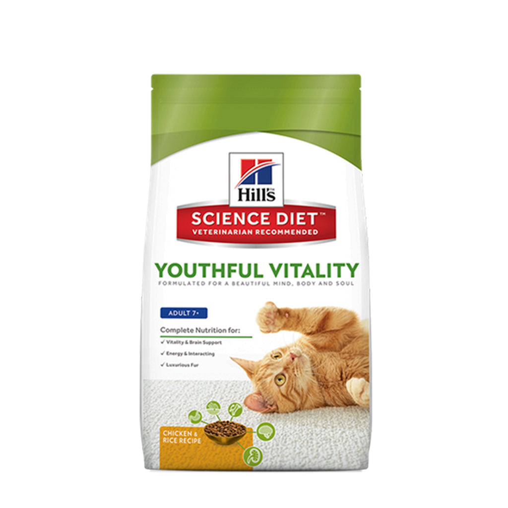 Hills Science Diet Feline Adult Youthful Vitality 1.36kg
