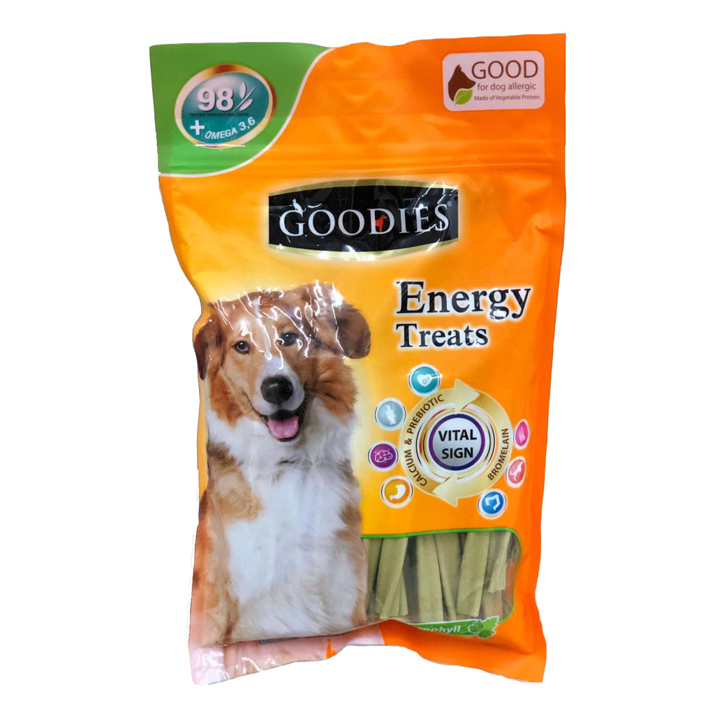 Goodies Energy Treats Chlorophyll Spiral Sticks