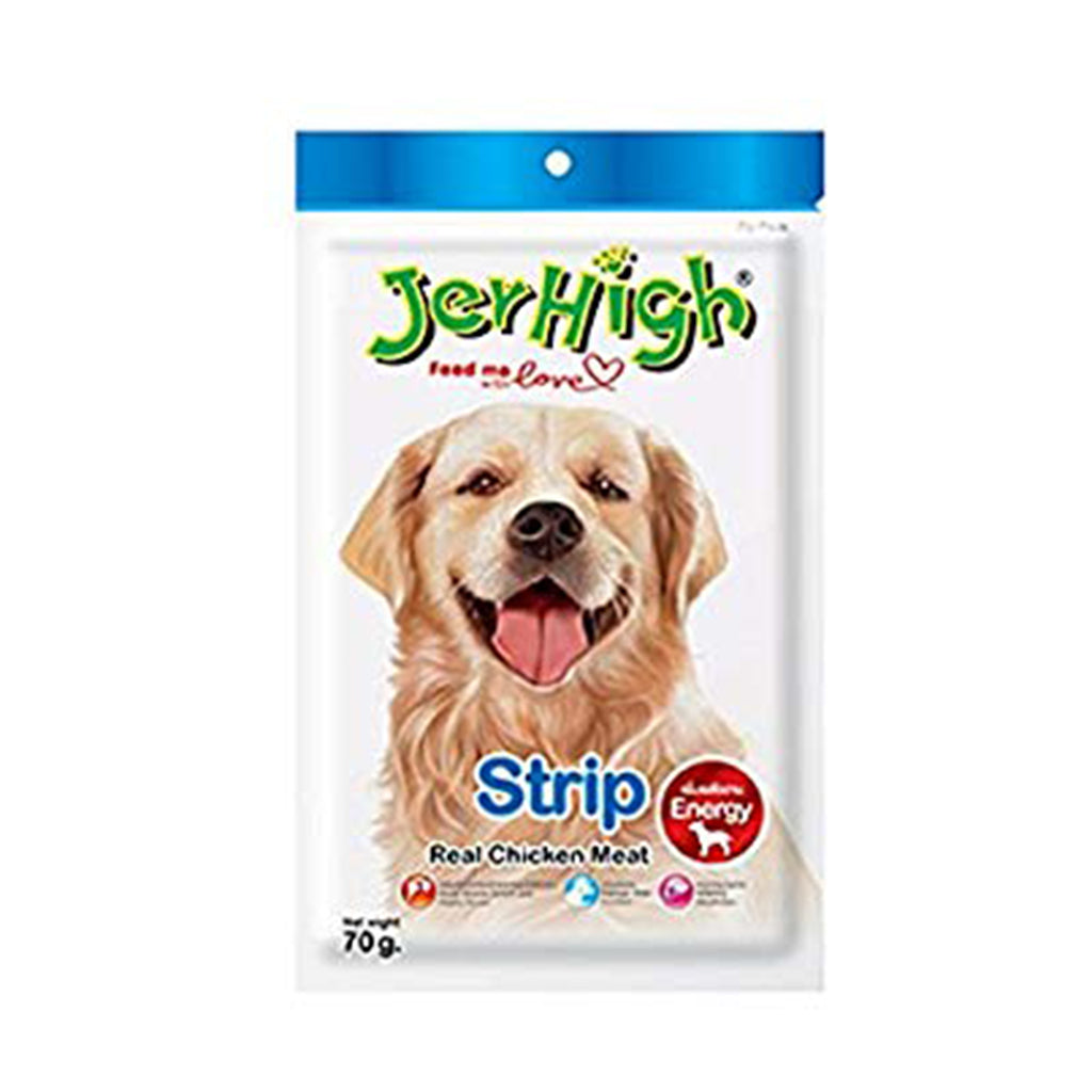 Jerhigh Real Chicken Meat Strip - 70g