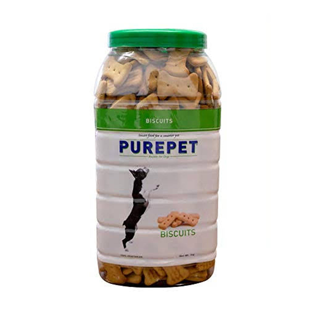 Purepet Dog Biscuits 100% Vegetarian - 1Kg