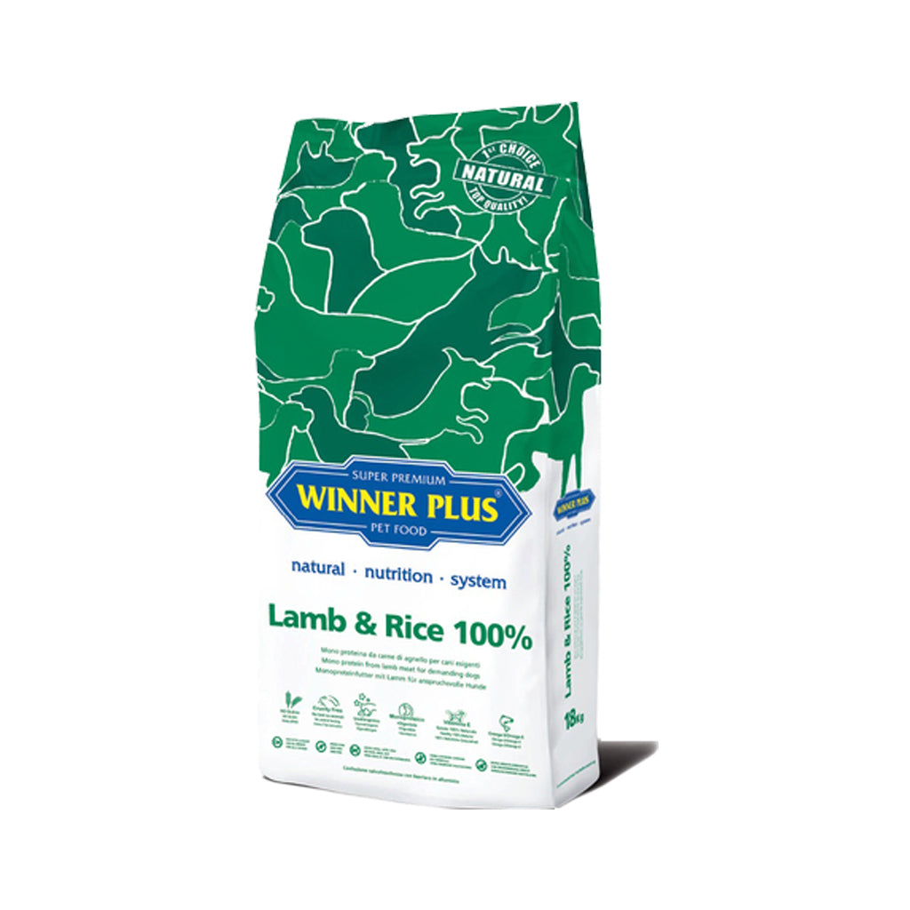 Winner Plus Adult Lamb and Rice Dry Dog Food