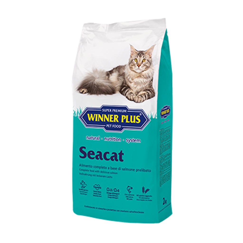 Winner Plus Seacat Adult Cat Food 2kg