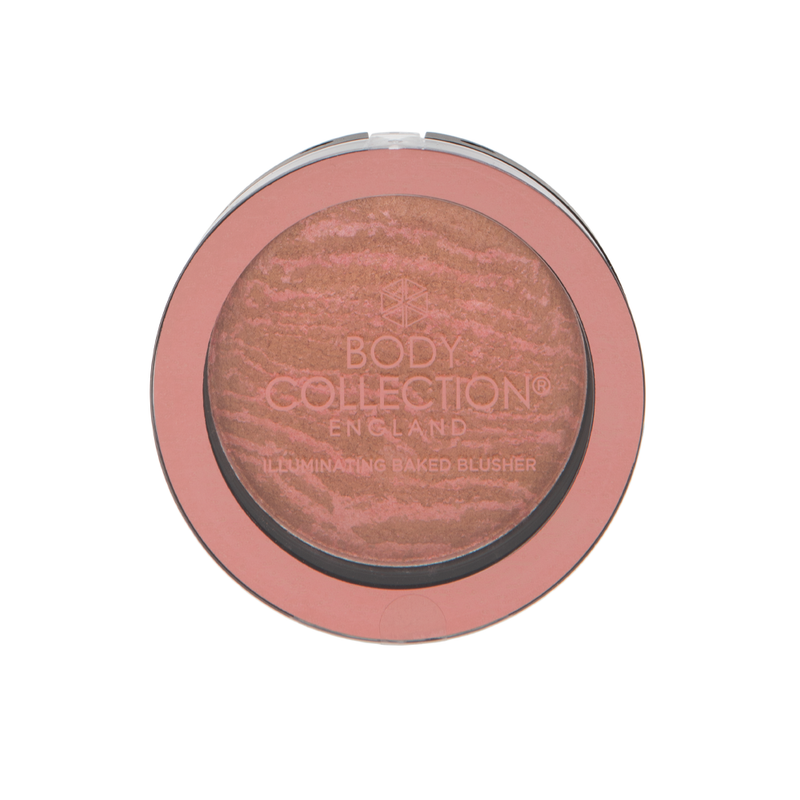 Body Collection Illuminating Baked Blusher Berry