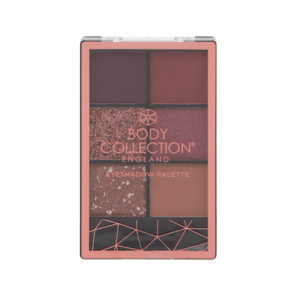 Body Collection Eyeshadow Palette Red Carpet Glam