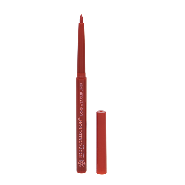 Body Collection Long Wear Lip Liner Red
