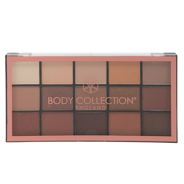 Body Collection Large Eyeshadow Palette Natural Beauty