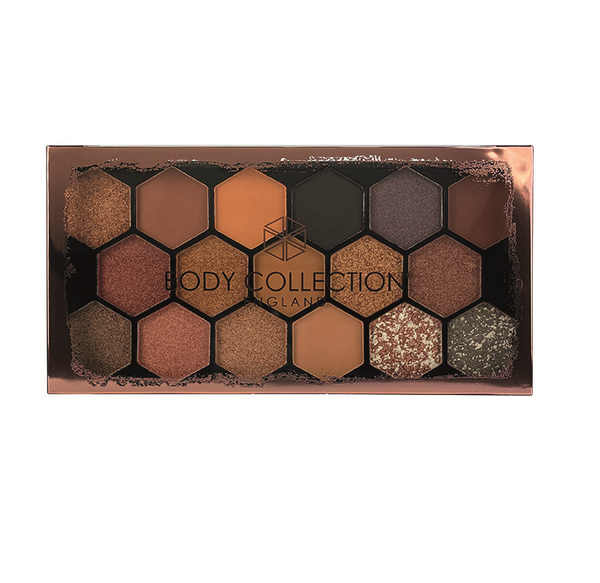 Body Collection Warm Large Eyeshadow Palette