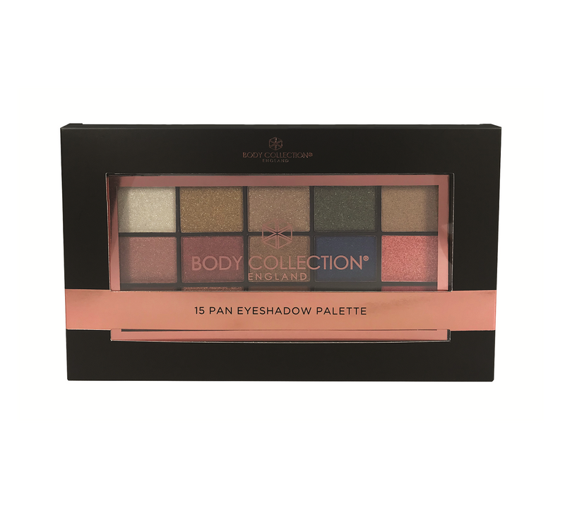 Body Collection X15 Eyeshadow Palette