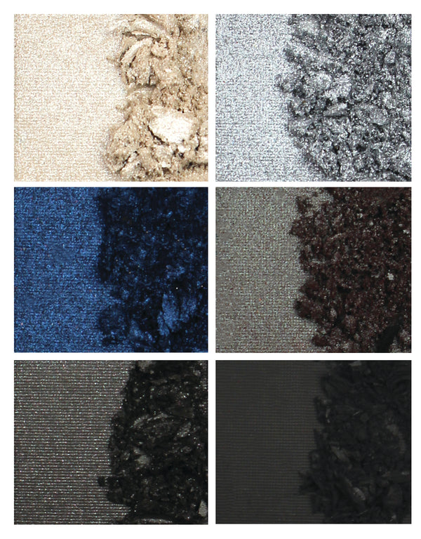 Body Collection Eyeshadow Palette Smokey Blue