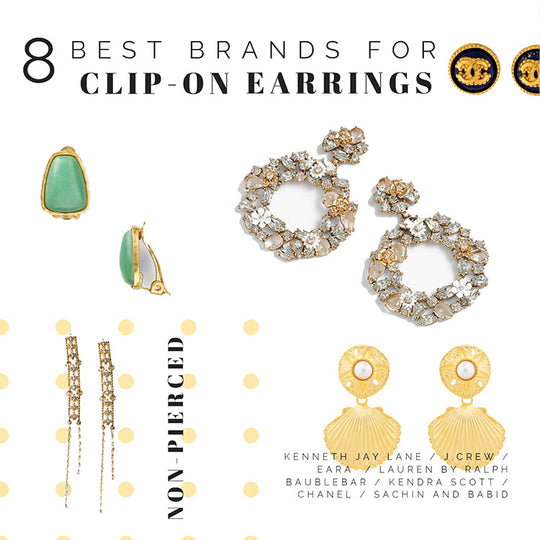8 Brands with a Great Clip-On Earrings Selection