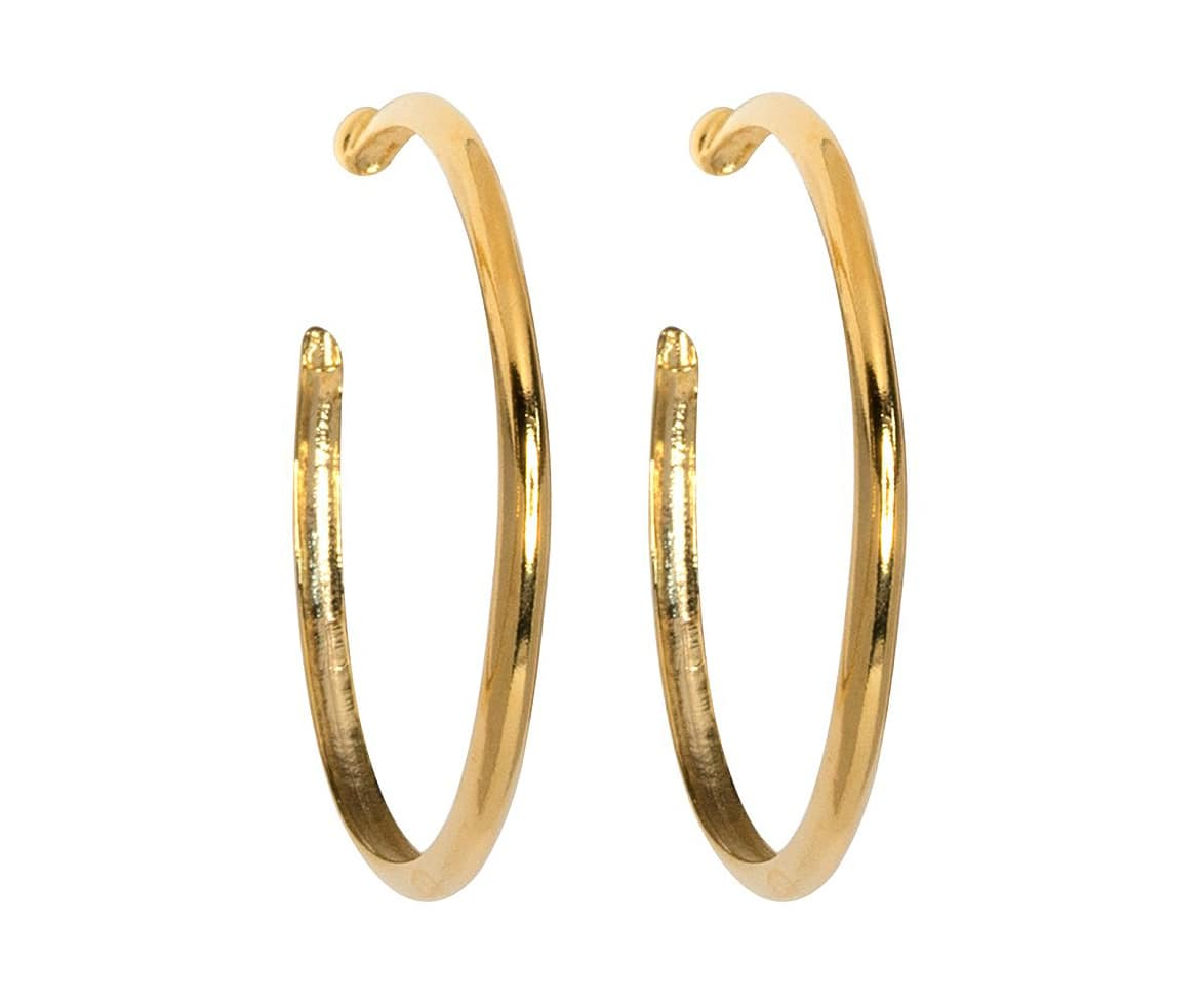kenneth_jay_lane_gold_hoops_clipon