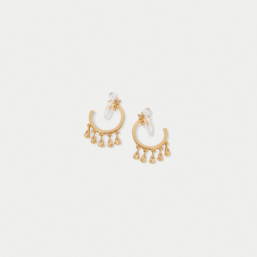 Shooting Star Hoops Invisible Clip-on Earrings - Eara Clips
