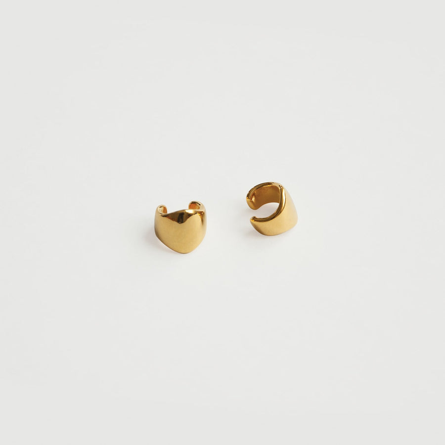 Athena Cuffs in Gold - Eara Clips