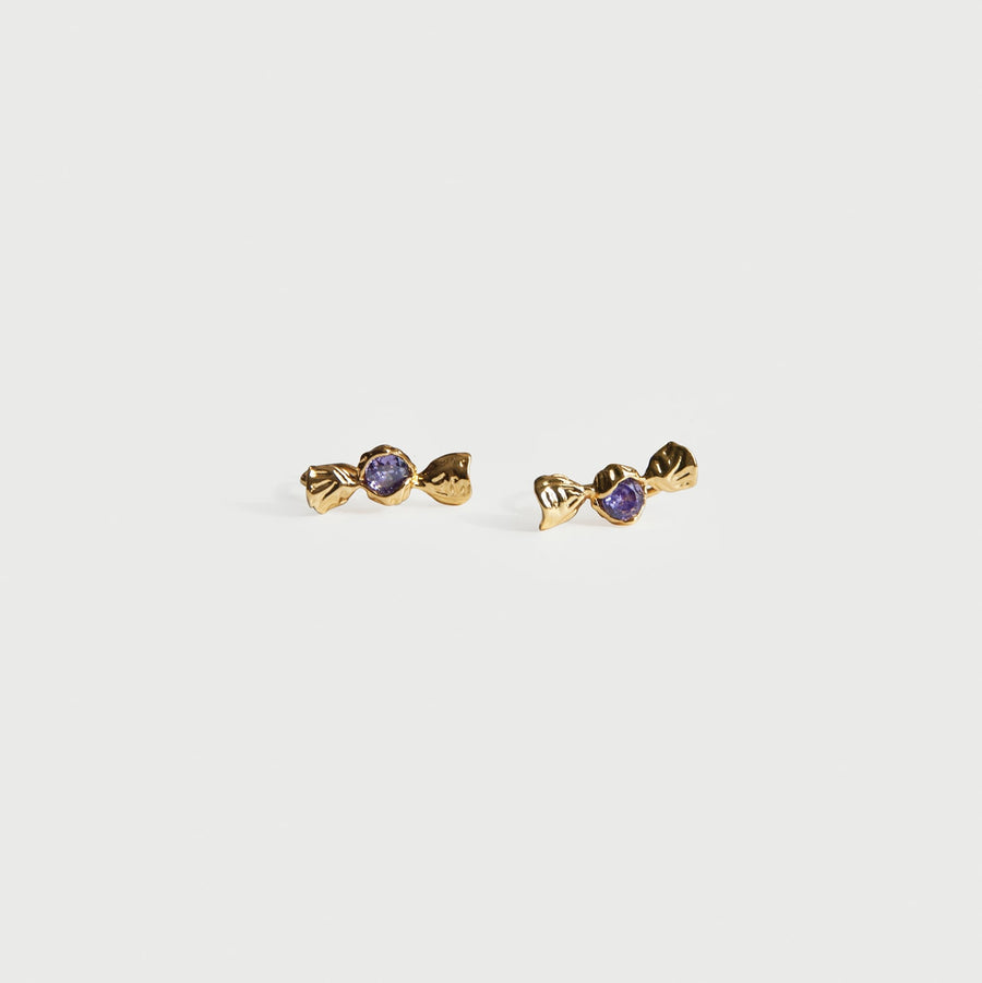 Dainty Candy Clip-on Stud Earrings - Eara Clips