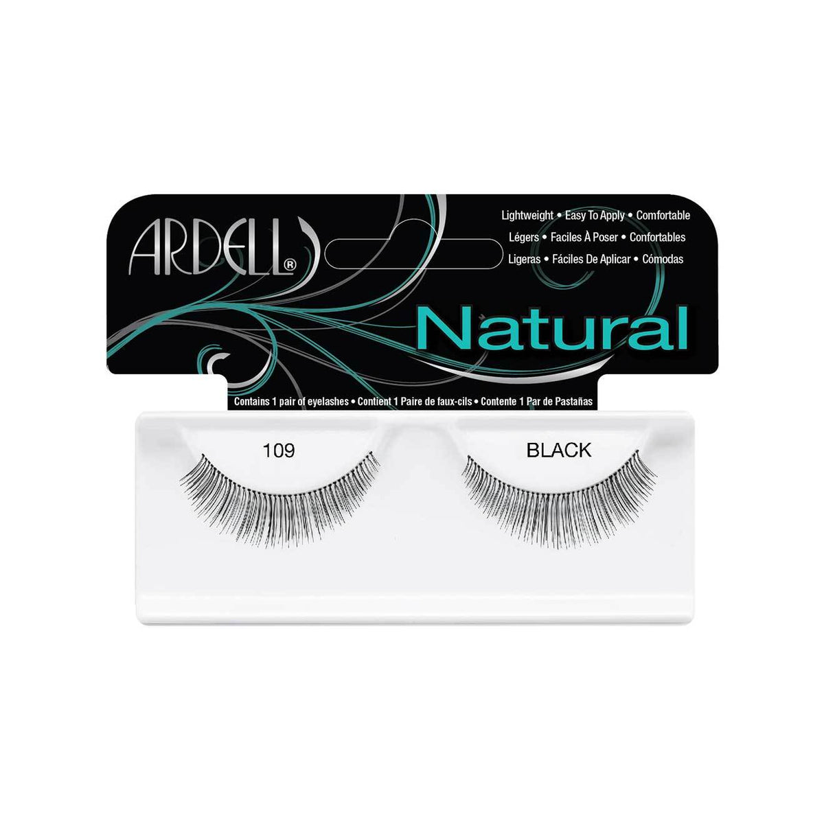 Ardell Natural Lashes 109 Demi Black
