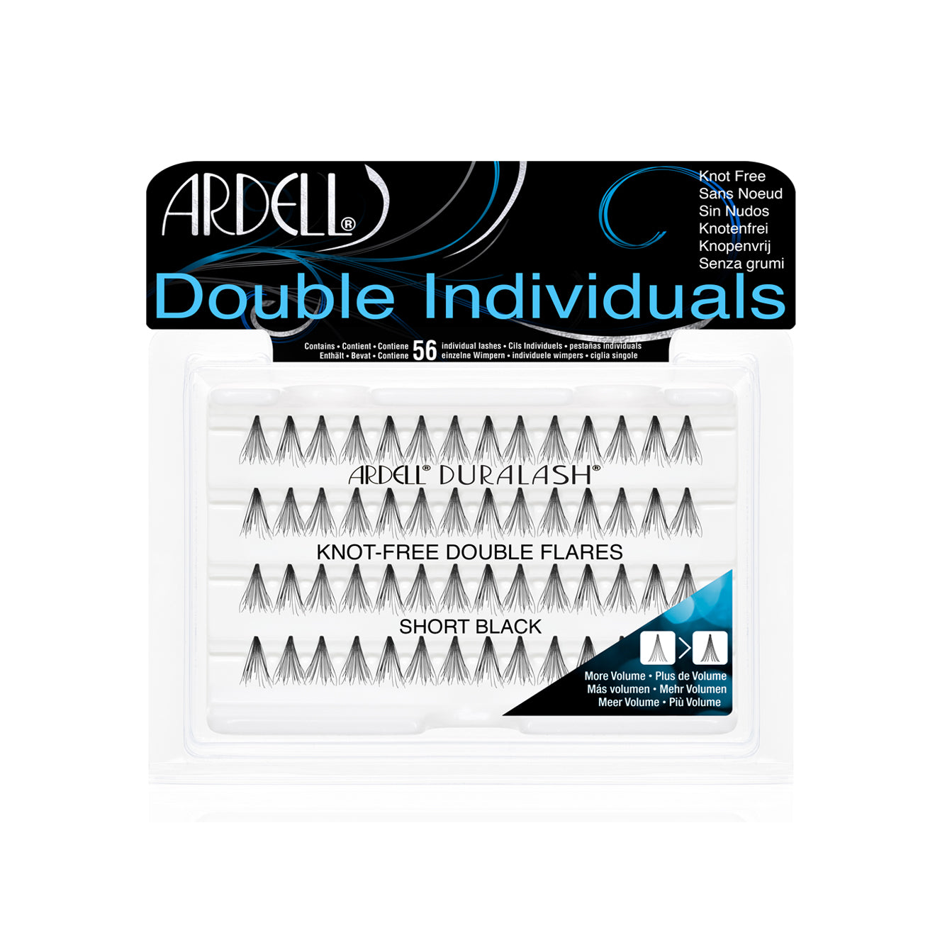 Ardell Double Individual Lashes KnotFree Short
