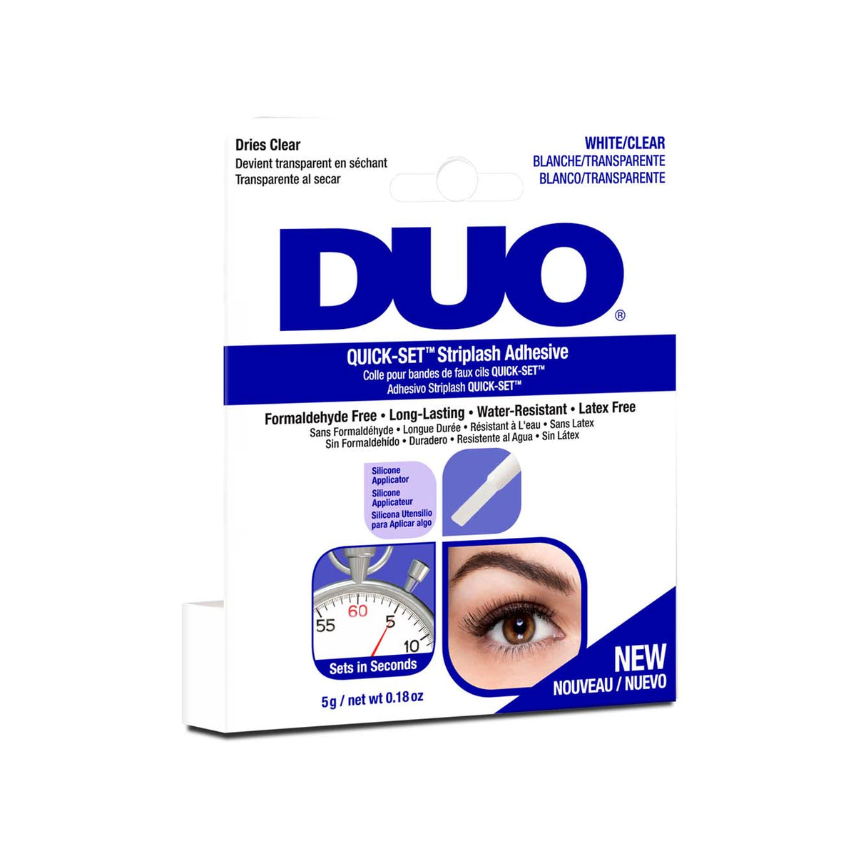 DUO Quickset Strip Lash Adhesive Clear