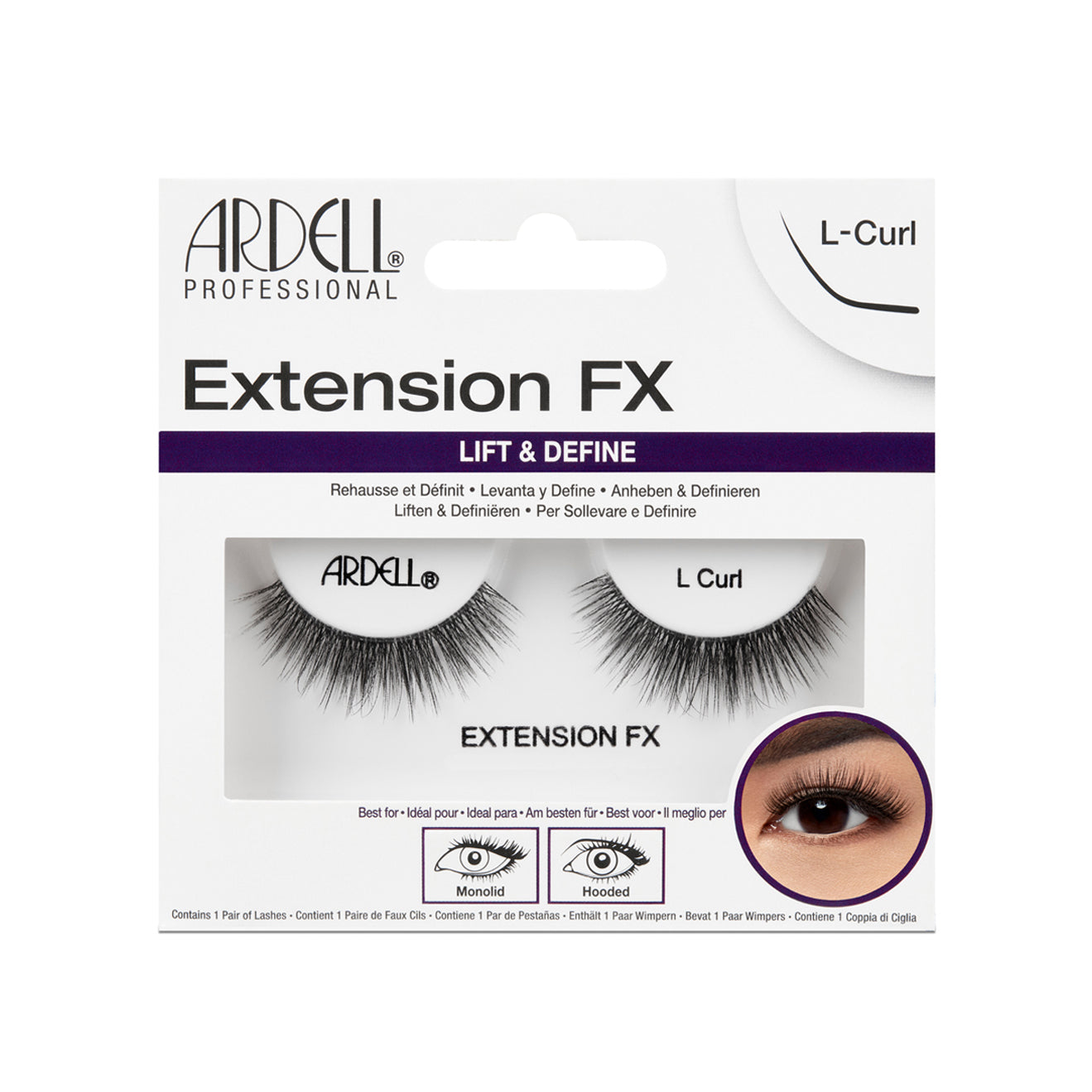 Ardell Extension FX L Curl