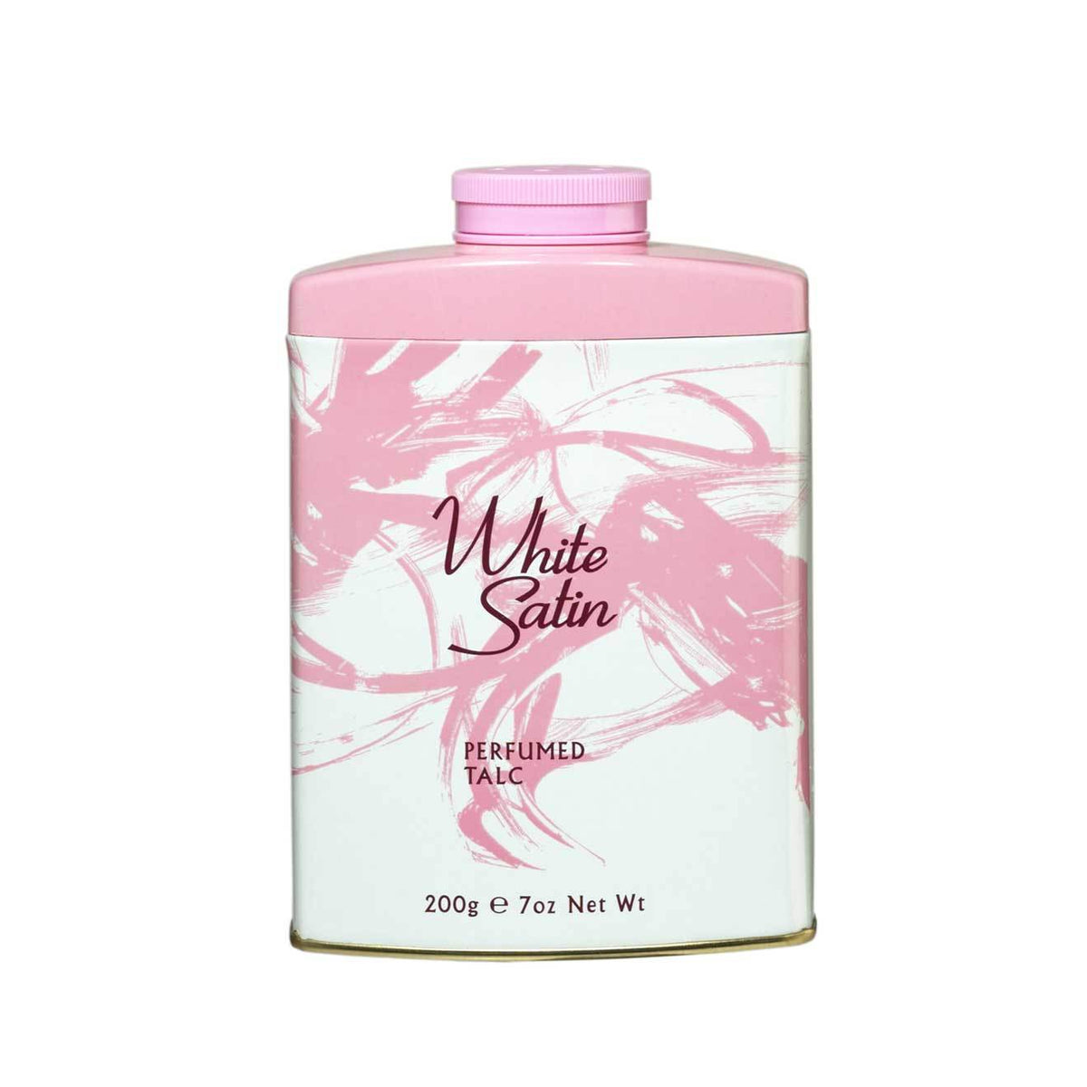 White Satin Perfumed Talc 200g