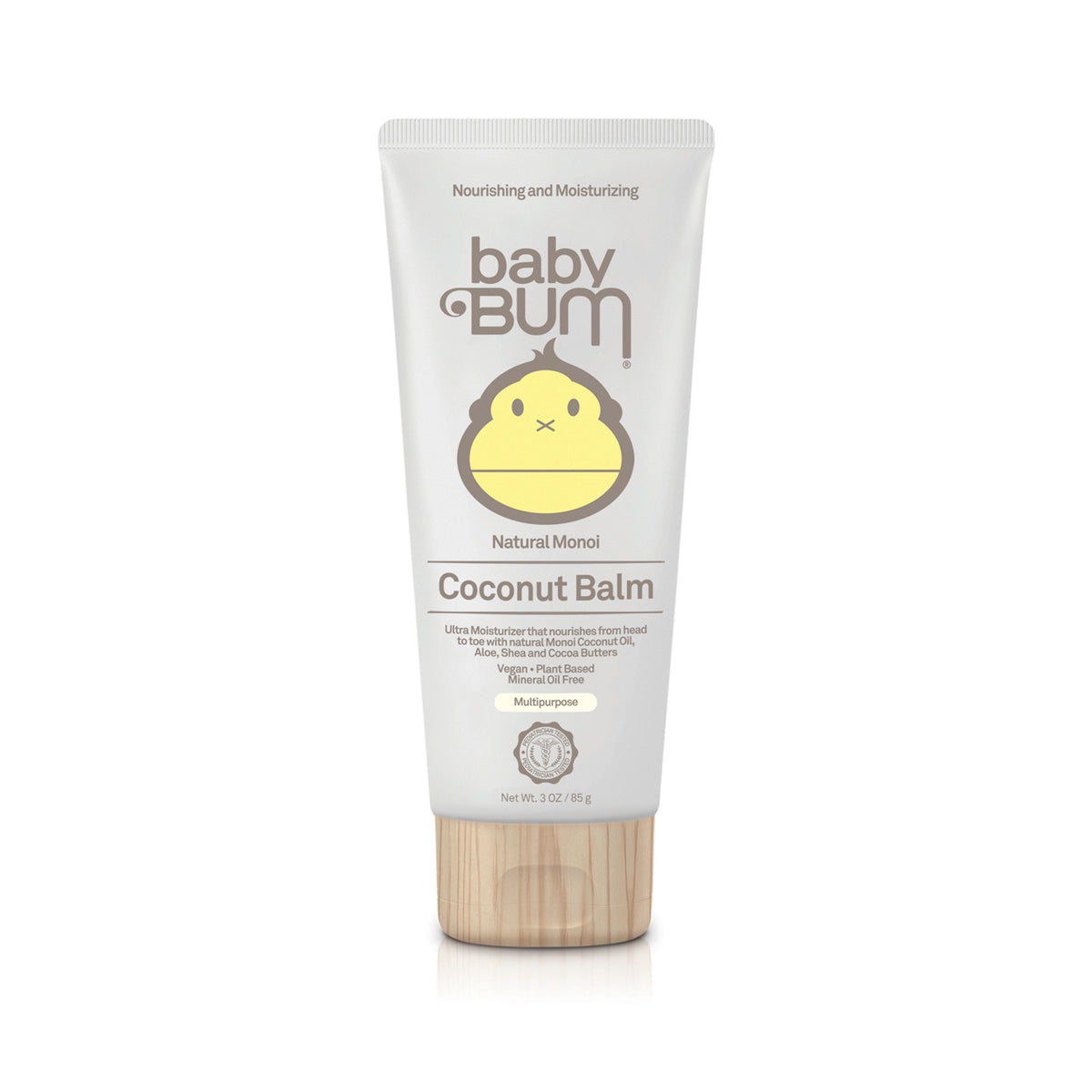 Baby Bum Natural Monoi Coconut Balm 85g