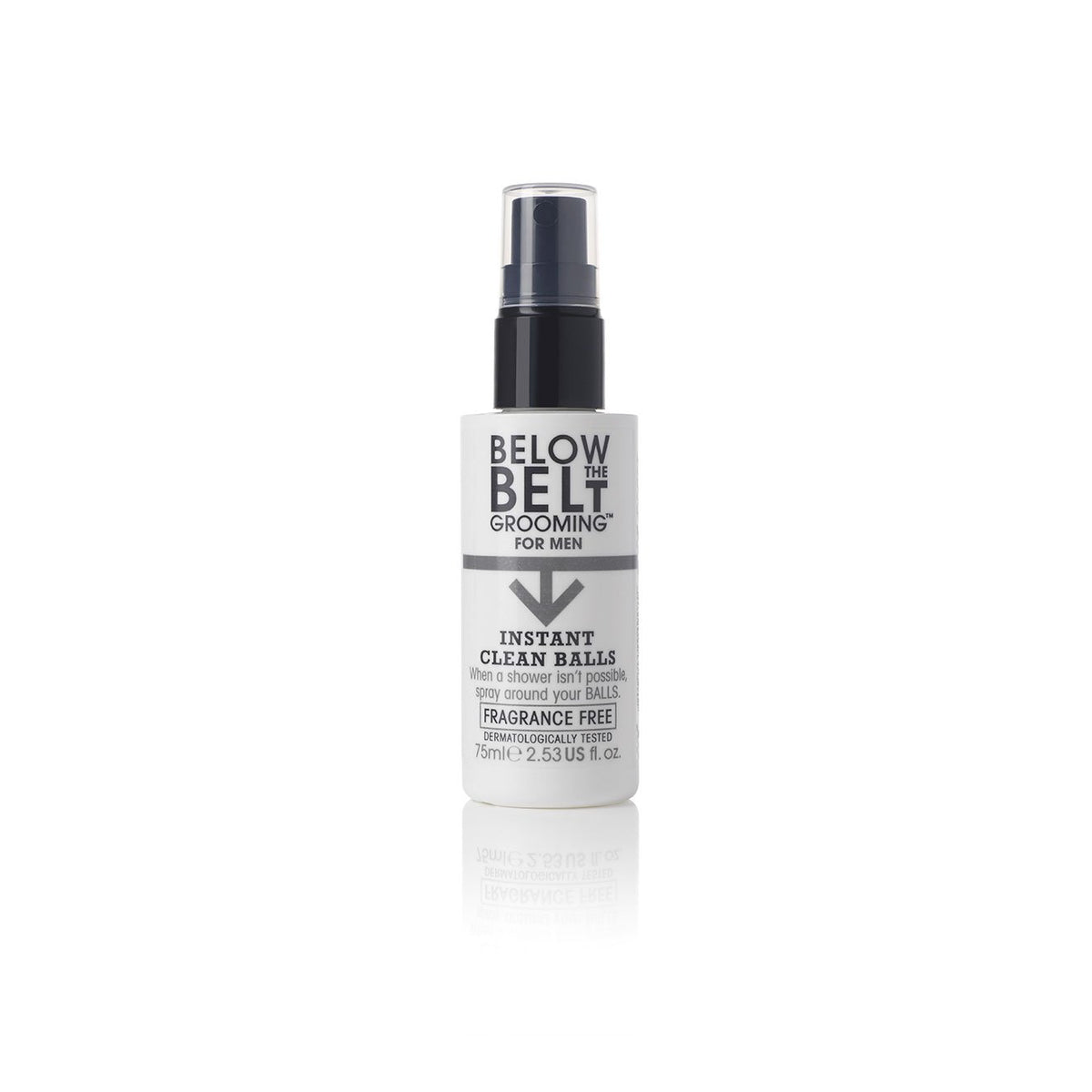 Below The Belt Instant Clean Balls Fragrance Free