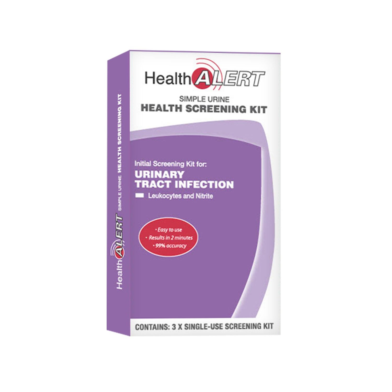 Urinary Tract Infection - Screening Kit 3 Pack