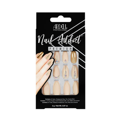 Ardell Nail Addict Nude Jeweled