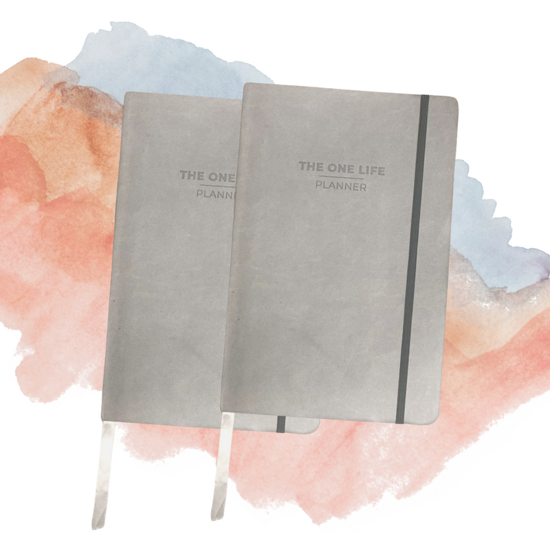 The One Life Planner Full Year Bundle - Set of 2
