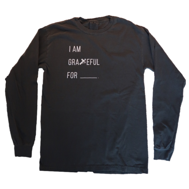 GRATEFUL LONG SLEEVE TEE