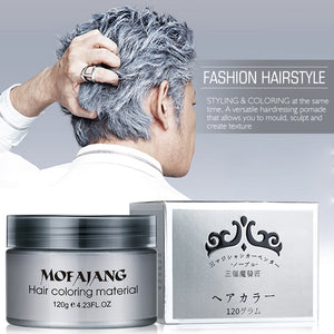 Styling Color Hair Wax