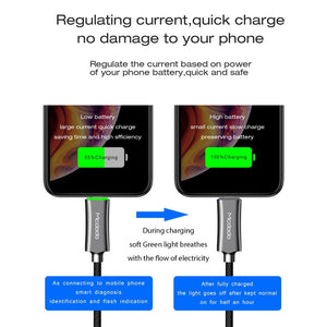 Auto Disconnect Fast Charging Cable