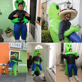 Inflatable Green Alien Costume