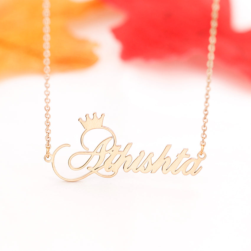 Handmade Crown Necklace