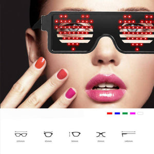 8 Modes LED Party Glasses
