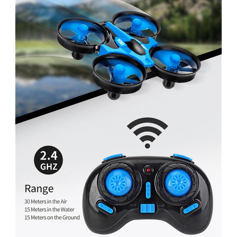 JJRC 3 In 1 RC Vehicle Flying Drone Land Driving Boat Model