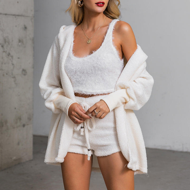 Cozy knit set(3 piece)