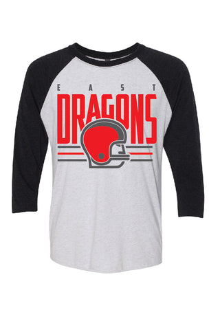 East Dragons 3/4 Sleeve
