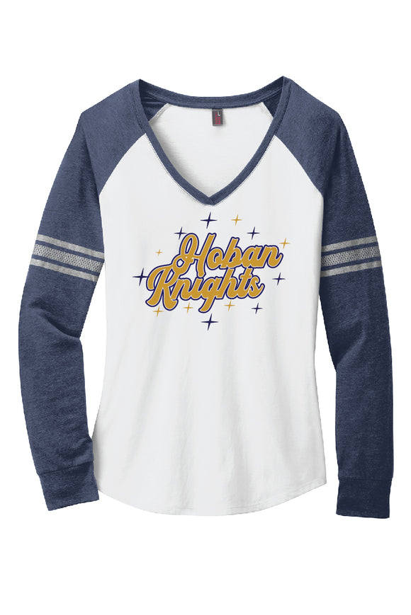 Hoban Knights Raglan T-shirt [Women]