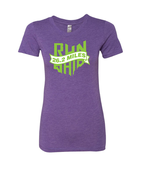 Run T-Shirt 26.2 Miles [Women]