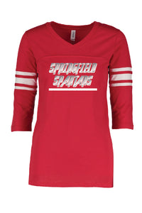 Ladies Football Tee