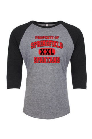 Springfield Spartans 3/4 Sleeve