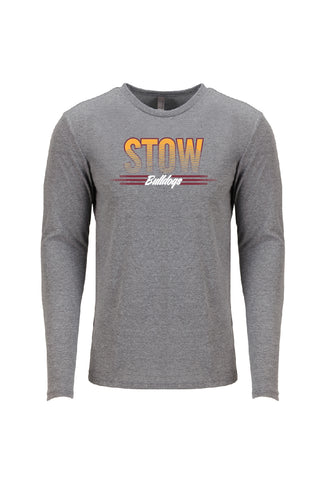 Unisex Tri-Blend Long Sleeve Crew