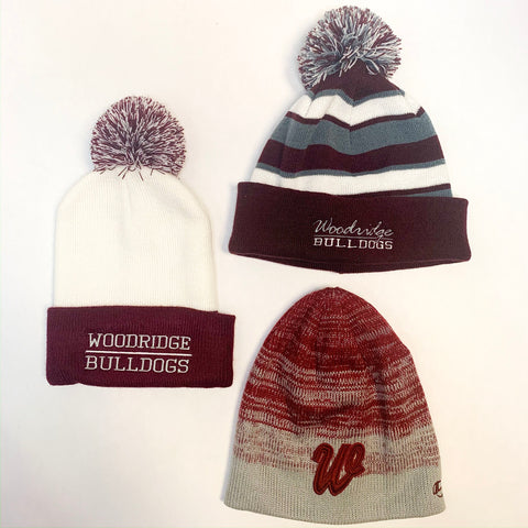 Woodridge Bulldogs Winter Hats