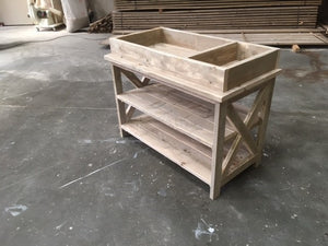 Steigerhouten Commode Fiene