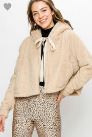 Teddy Poncho Coat - [product_style] - Outerwear - WILLOWTREE MARKET